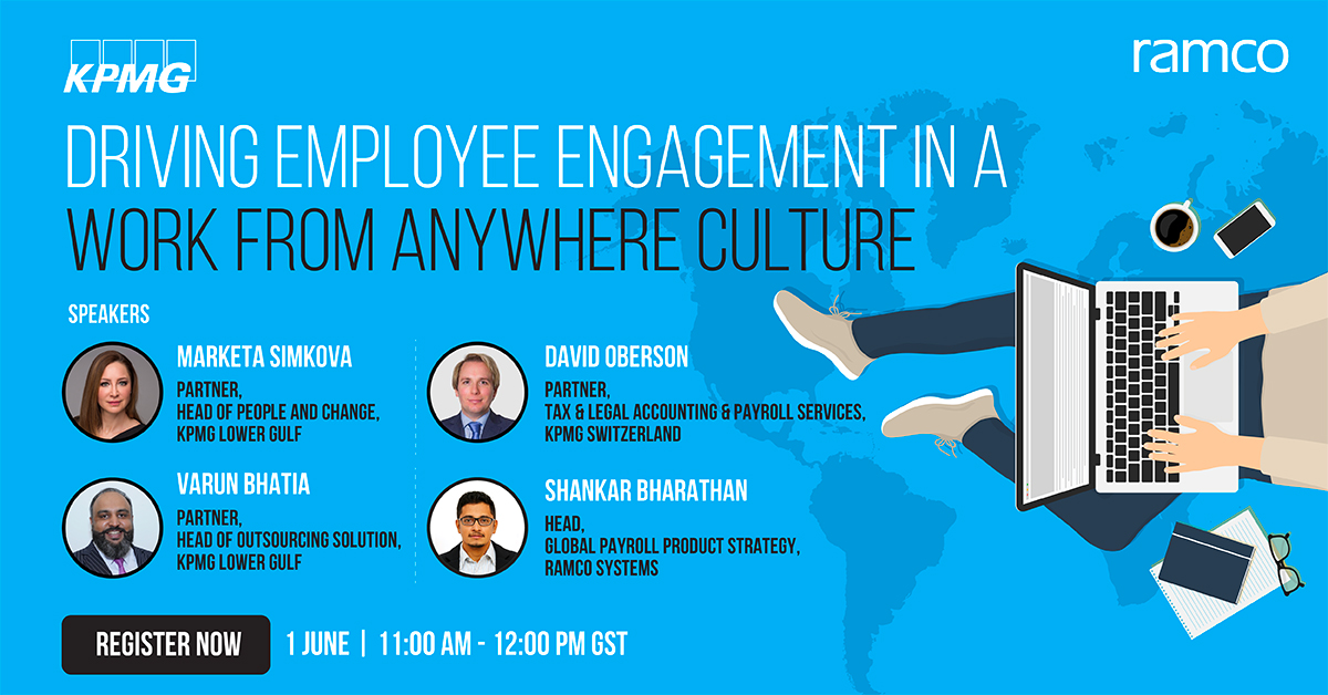Driving Employee Engagement in a Work from Anywhere Culture
