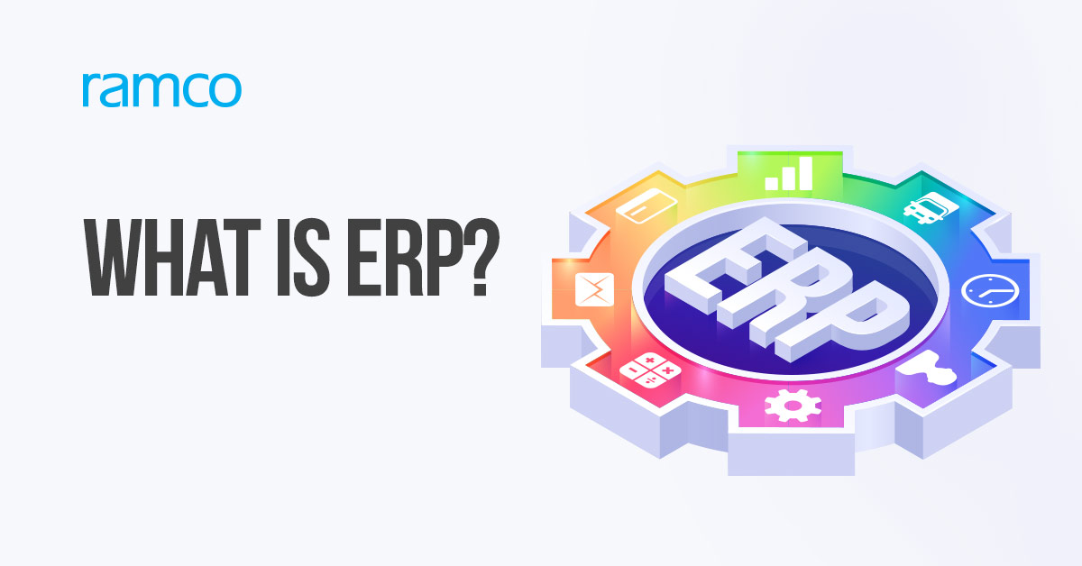 An ERP software comes with applications that streamline business functions such as production, accounting, and sales quoting