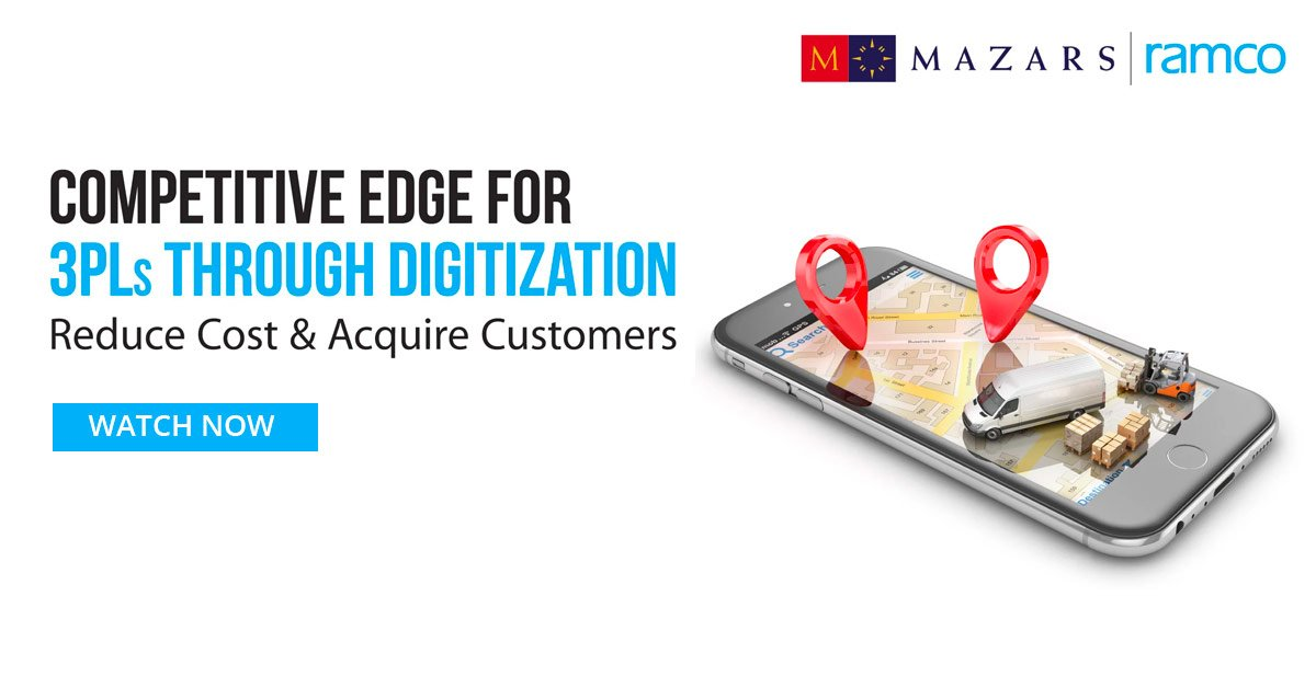 Competitive Edge for 3PL Through Digitization